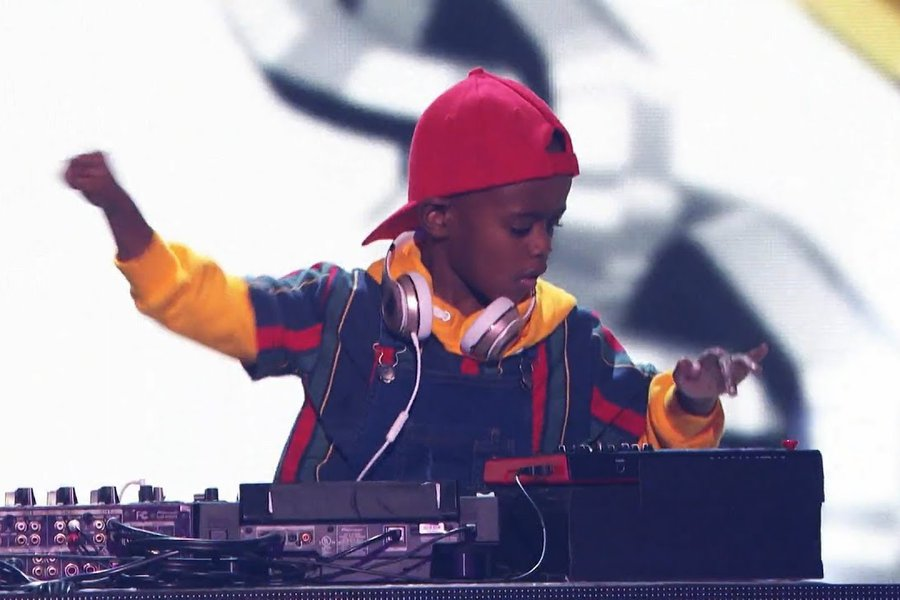 DJ Arch Jnr on AGT Stage, YouTube